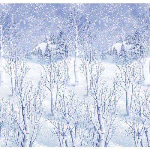Amscan International Scene Setter Roll Winter-Wunder, 3 Stück