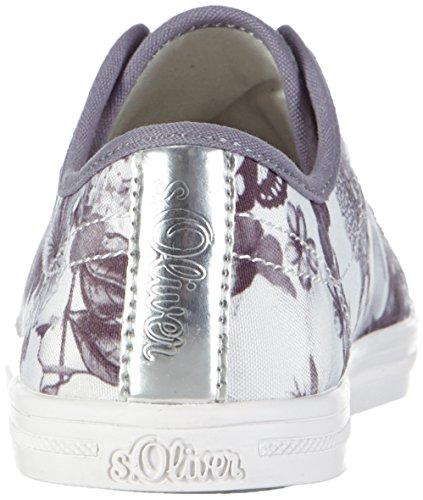 s.Oliver Damen 23637 Sneakers Schwarz (Black 001)
