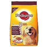 Pedigree Adult Dog Food Meat & Rice, 1.2 kg Pack