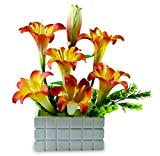 Magical Petals orange lily Arrangement A...
