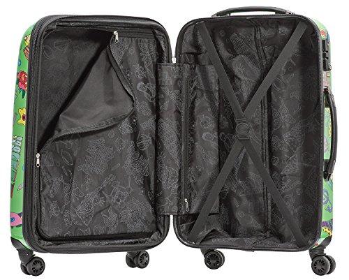 Packenger One World by Della Koffer, Trolley, Hartschale  Größe L, 64 cm, 64 Liter, Hellgrün - 3
