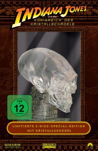 Indiana Jones und das Königreich des Kristallschädels (Limitierte Edition mit Kristallschädel) (2 DVDs)