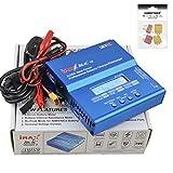 HOBBYTIGER SKYRC iMAX B6AC V2 2S 3S 4S 5S 6S Lipo Battery Balance Charger NiMH NiCd caricabatterie bilancia digitale Lipo + 4Plug(2T Plug + 2XT60 Plug)