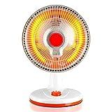 Riscaldatore QFFL, Materiale ignifugo, Elettrico Portatile Temperatura Regolabile 800W, Bianco Raffreddamento e Riscaldamento