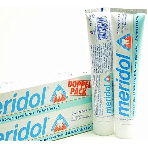 Dentifricio Meridol Confezione Doppia 2x 75ml, 150ml–Balsamo Per Il
