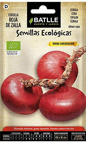 Semillas Ecológicas Hortícolas - Cebolla Roja de Zalla - ECO - Batlle