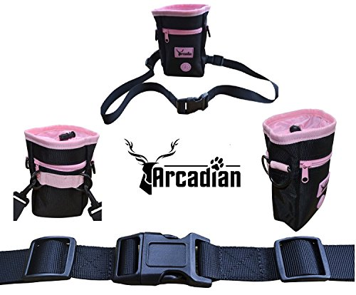 premium-dog-treat-bag-by-arcadian-comes-with-adjustable-waist-belt-additional-storage-pockets-and-an