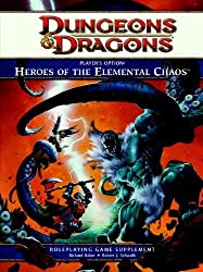 [ PLAYER'S OPTION: HEROES OF THE ELEMENTAL CHAOS: A 4TH EDITION DUNGEONS & DRAGONS RULEBOOK ] Player's Option: Heroes of the Elemental Chaos: A 4th Edition Dungeons & Dragons Rulebook By Wizards RPG Team ( Author ) Feb-2012 [ Hardcover ]
