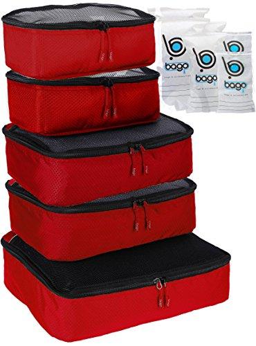 Verpackungswürfel 5pcs Wert Set für Reisen