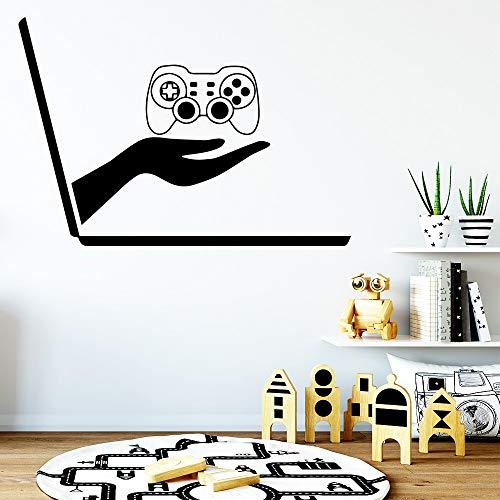 Giochi per computer Decorazione della casa Adesivi murali per bambini Camere dei bambini Decorazioni per la casa Decalcomanie in vinile Adesivo De Parede-43x30cm