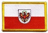 Flaggen Aufnäher Österreich Tirol Fahne Patch + gratis