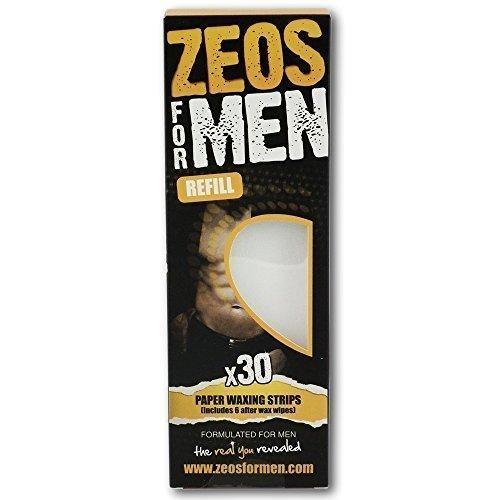 Zeos Für Herren Papier Wachs Streifen (30) (Tuch-wachs-streifen)