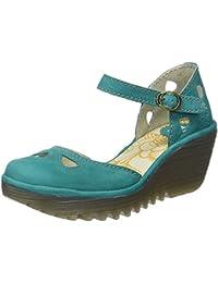 Zapatos verdes con velcro Fly London para mujer bGmBAVXdq8