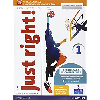 Just Right! Ediz. Activebook. Con E-Book. Con Espansione Online. Per La Scuola Media: 1