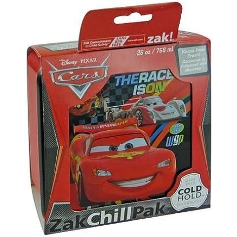 WeGlow International Disney Cars 2 Chill Pak Food Container, 26 Ounce by WeGlow International