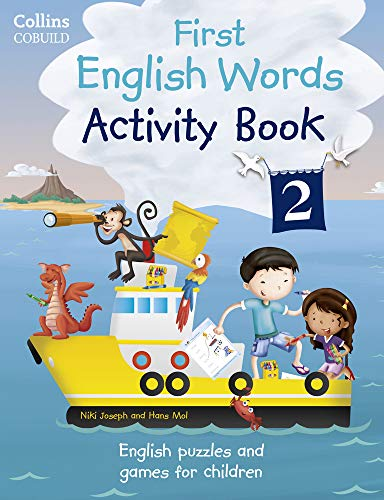 Activity Book 2: Age 3-7 (Collins First English Words)