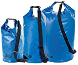 Xcase Wasserdichter Seesack: Urlauber-Set wasserdichte Packsäcke 16/25/70 Liter, blau (Motorrad Sack)