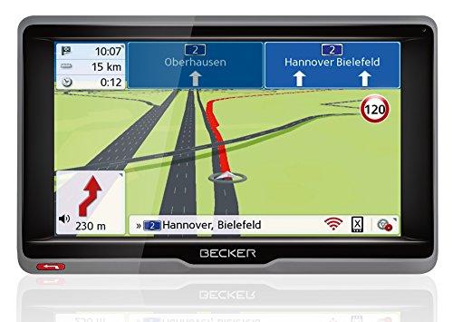 Preisvergleich Produktbild Becker ready.6l EU plus Navigationsgerät (15,8 cm (6,2 Zoll) Bildschirm, 45 Länder vorinstalliert, Lebenslange Kartenupdates und Blitzerwarner, TMC, Bluetooth, inkl. MagClick Aktivhalter)