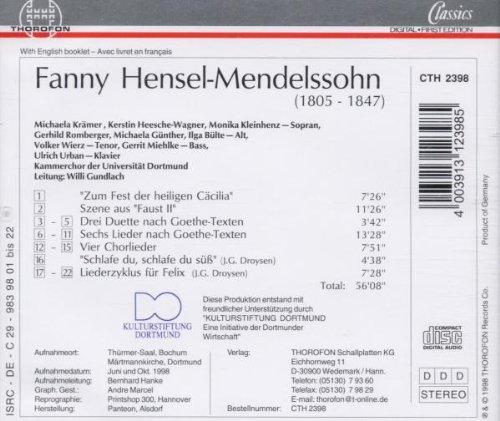 Hensel-Mendelssohn: Choral Works