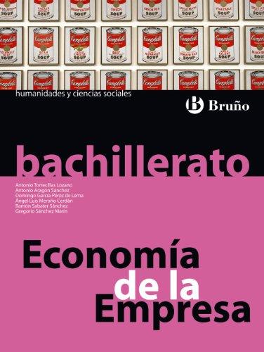 Portada del libro Economía de la Empresa Bachillerato - 9788421664476