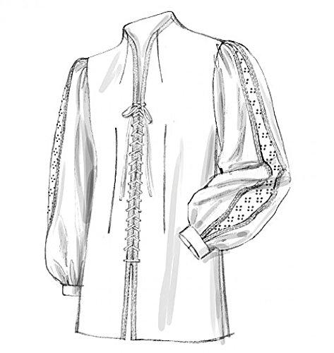 rren Schnittmuster 2027historischen Lace Up Front doublets (Historisches Herren Kostüm Muster)