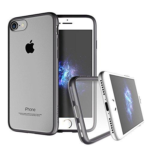 """Apple iPhone 7 case, Prodigee [Scene] Rose Gold Schutz dünn Hülle Stück dünner dünn for iPhone 7 (2016) 4.7"""" Phone Case w/ Clear back Grey"""