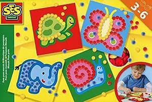 SES Creative 14611 - Mosaïque en pompons