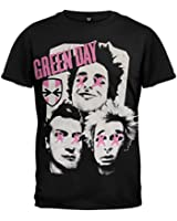 Green Day-Patchwork-T-Shirt