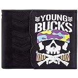 Bullet Club Young Bucks Bone Soldier Schwarz Portemonnaie Geldbörse