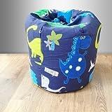 Childrens Filled Bean Bag Dinosaurs In the Dark
