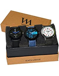 Watch Me Gift Combo Set For Him/Watches For Men/Watches For Boys (watches 3 Combo/watches 2 Combo) WMC-004-WMD...