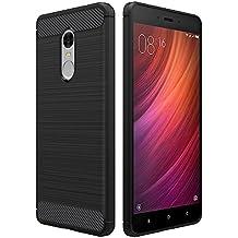 Funda Xiaomi Redmi Note 4/Note 4X, Simpeak funda Redmi Hongmi Note 4 carcasa Redmi Note 4/Note 4X funda Gel Silicona TPU case(5,5 Pulgadas),Negro