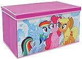 Fun House 712520My Little Pony Spielzeugkiste faltbar für Kinder Vlies 55,5x 34,5x 34cm
