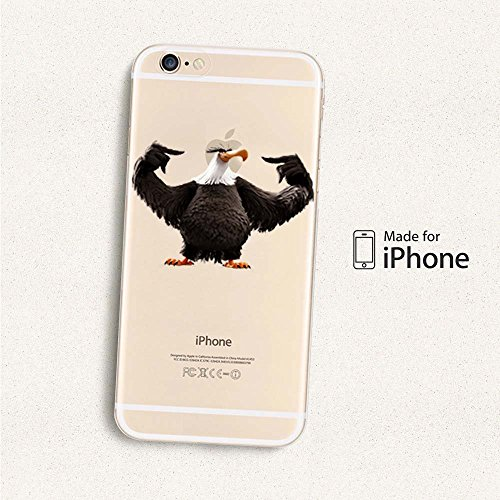 Angry Birds TPU Soft Case für Apple iPhone 5/5S/5SE... ANGRY BIRDS MIGHTY EAGLE