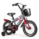 Red Kinderwagen Kinder Fahrrad 6-7-8-9-10 Jahre Alt 14 16 Zoll Jungen und Mädchen Infant Kinder Fahrrad (Größe : 14 inch)