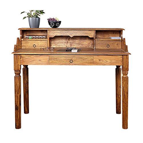 Exklusiver-Sekretr-HEMINGWAY-L-Sheesham-Massivholz-115cm-Schreibtisch-Kommode