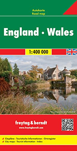 England and Wales Road Map (Freytag & Berndt Road Map) (Road Maps) par Freytag & Berndt