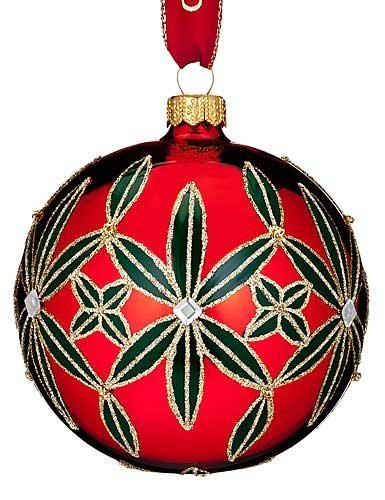 Waterford HH Lismore Ball Ornament by Waterford -