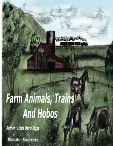 Farm Animals, Trains and Hobos - Animal-print Hobo