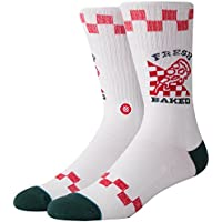 Stance Calcetines Fresh Baked Blanco