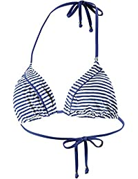 Short Stories Mujer Bikini parte superior, mujer, 650131, azul/blanco, 38