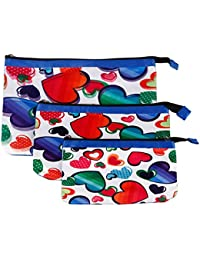 Multi Purpose Pouches And Bag(Set Of 3 L/M/S)Digital Printed - B019FB8YT8