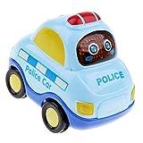 Baoblaze Aufziehauto Auto zum Aufziehen und Fahren - Aufziehfahrzeug/Fahrzeug - für Kinder - Polizeiauto