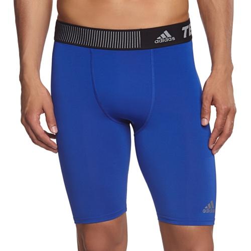 adidas TF Base ST 9 - Mallas de calentamiento para hombre, color azul