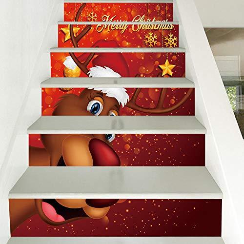 Wandaufkleber Weihnachten Hirsch Neue Weihnachten Hirsch Kreative Personalisierte Dekoration Hersteller Großhandel