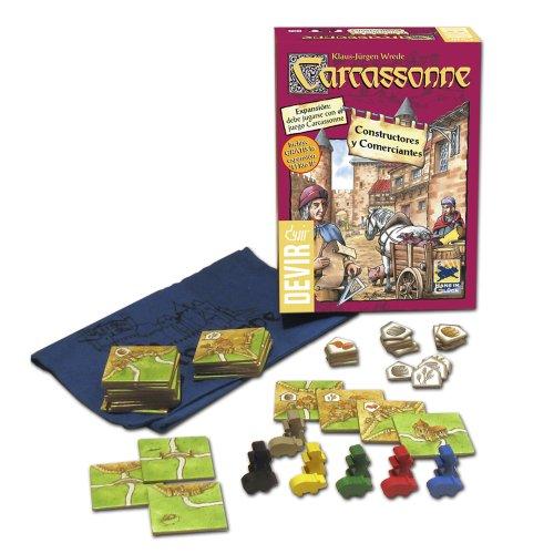 Comprar Devir - Carcassonne Constructores y Comerciantes, juego de mesa, 2015 (BGCOMER)