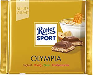 Ritter Sport Olympia - Schokolade 5x100g