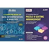 A Complete Book on Data Interpretation and Analysis, and A Complete Book for Seating Arrangement and Puzzles( A Combined…