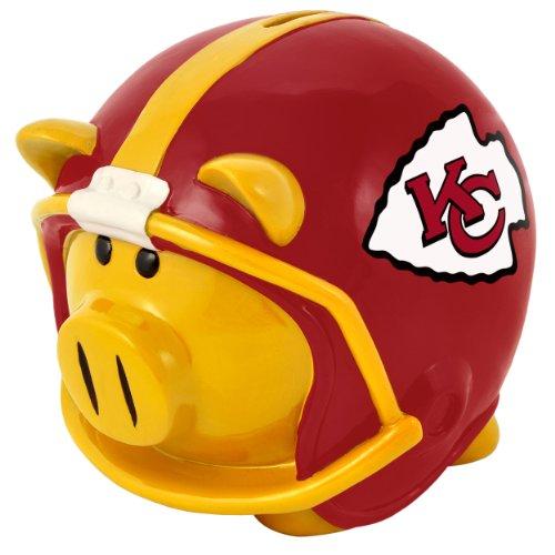 KANSAS CITY CHIEFS Large Helmet Piggy Bank / Sparschwein (City Spielzeug Chiefs Kansas)