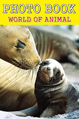 photo-book-wolrd-of-animal-vol16-picture-books-animal-books-for-adults-english-edition